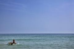 De kust van de Portugese Algarve wordt vaak gezien als een van de mooiste standen van Europa. ANP COPYRIGHT SVB
