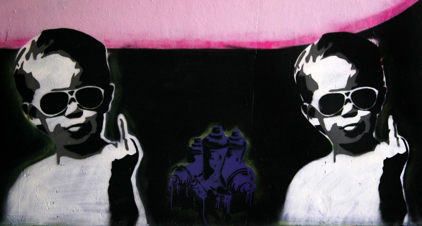 KUNST - GRAFFITI